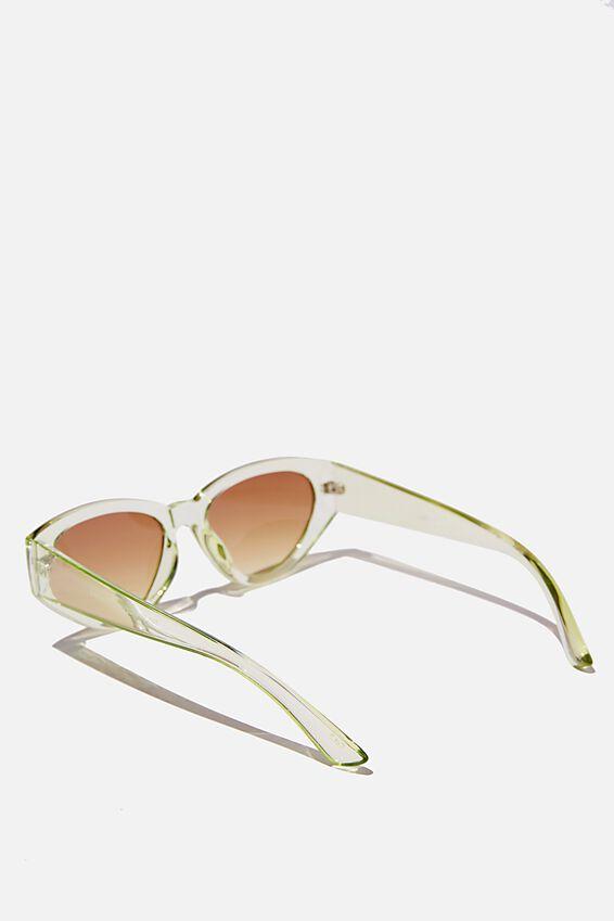 Taylor Cateye Sunglasses, SOFT GREEN