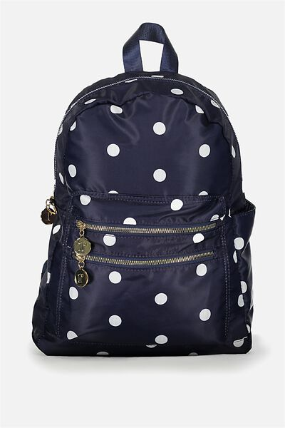 Explorer Backpack, NAVY SPOT