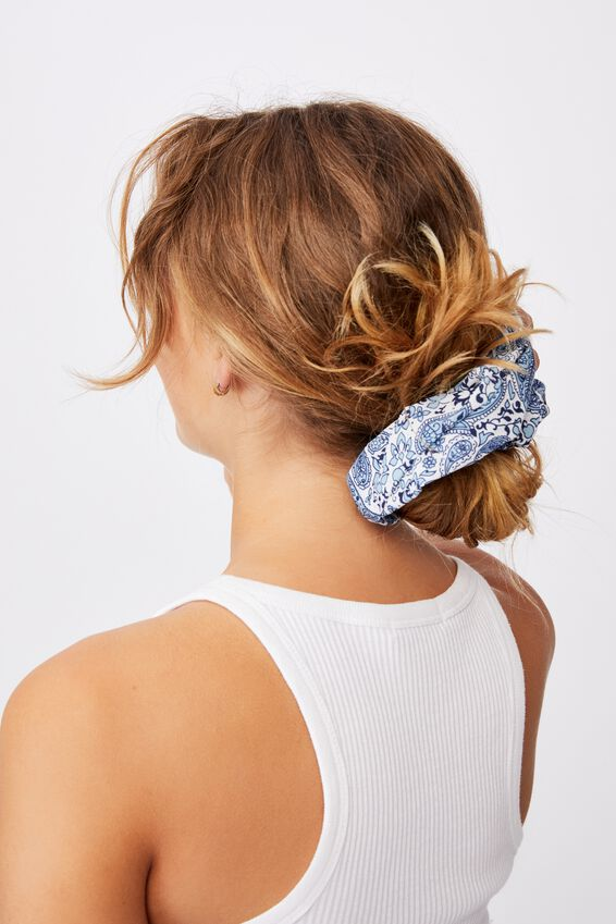 Super Scrunchie, NOLA PASILEY DUSK BLUE