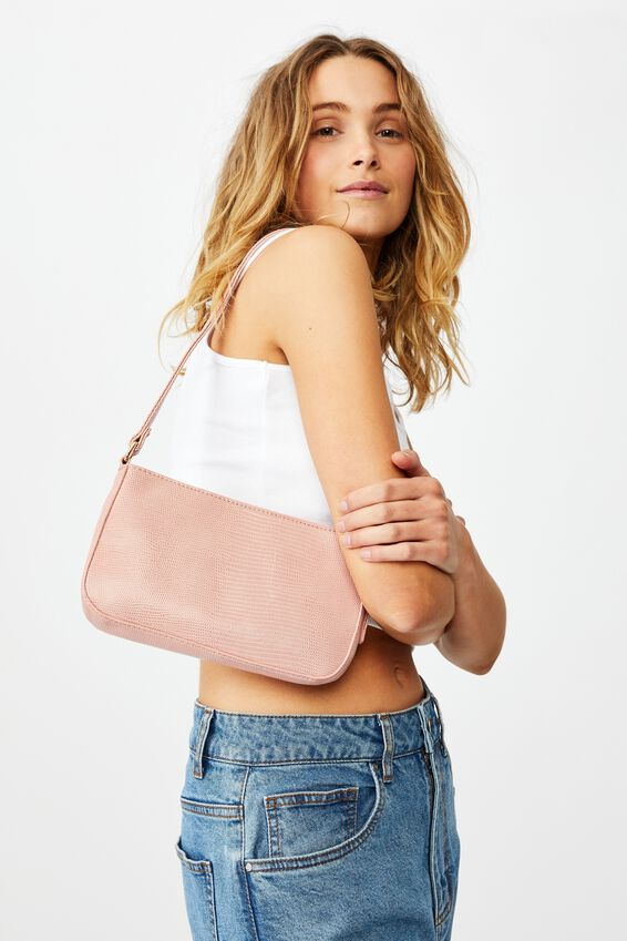 Lexi Underarm Bag, SWEETHEART PINK