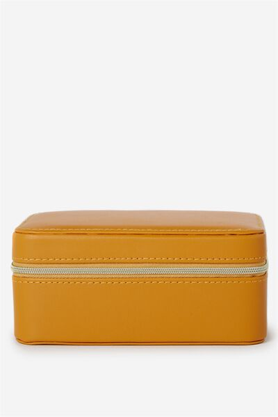 Medium Jewellery Box, MUSTARD
