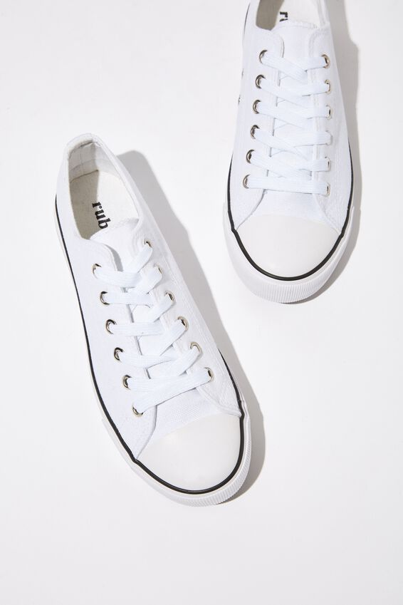 Jodi Low Rise Sneaker 1, BRIGHT WHITE