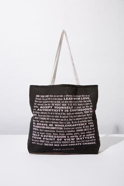 0c0f6e62a7 Supre Foundation Tote Bag