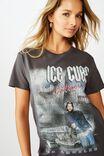 Ice Cube Tee, GRANITE GREY LCN MT ICE CUBE CALI