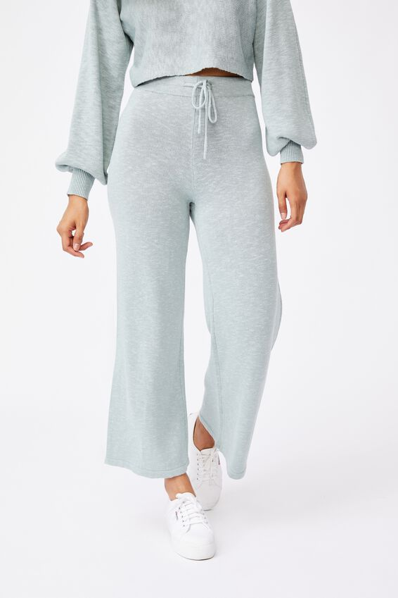 Holly Knit Pant, MATCHA GREEN