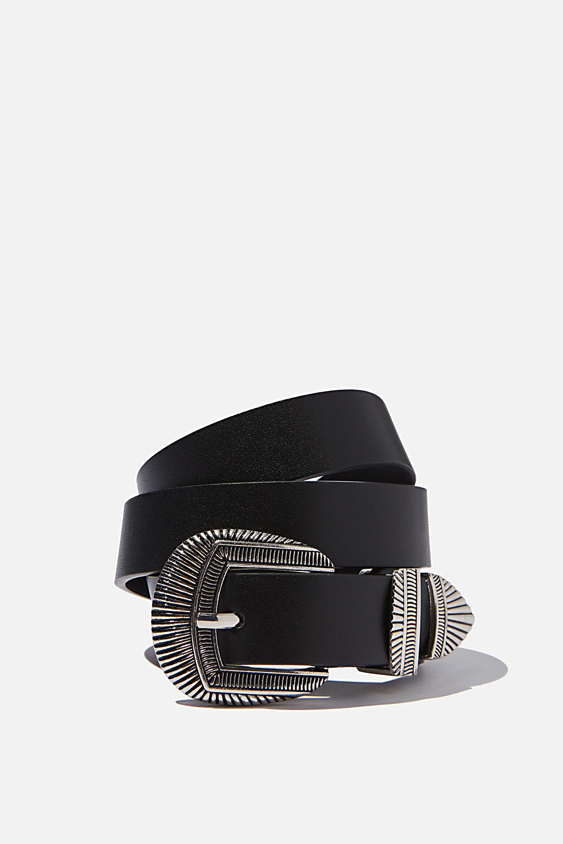 Fancy Dress Material Accessory Black /& Silver Pull On Shoe Fabric Buckles