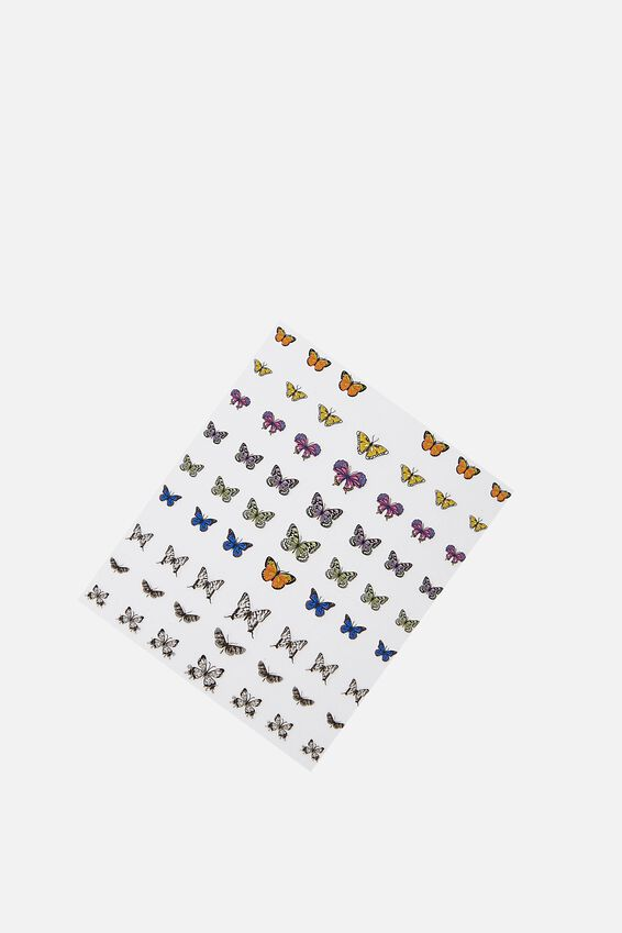Nail Stickers, BUTTERFLY