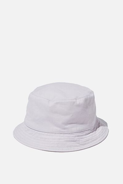Bucket Hat, WASHED LILAC