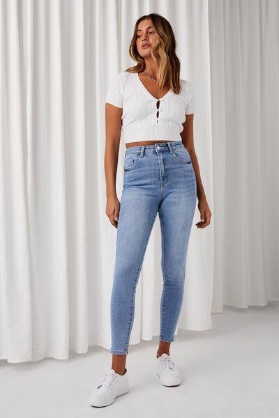 The Skinny Premium Jean, VINTAGE BLUE CLEAN