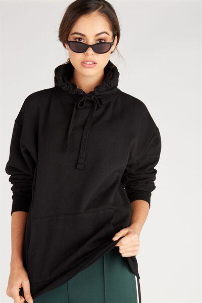 Oversized Hoodie, BLACK