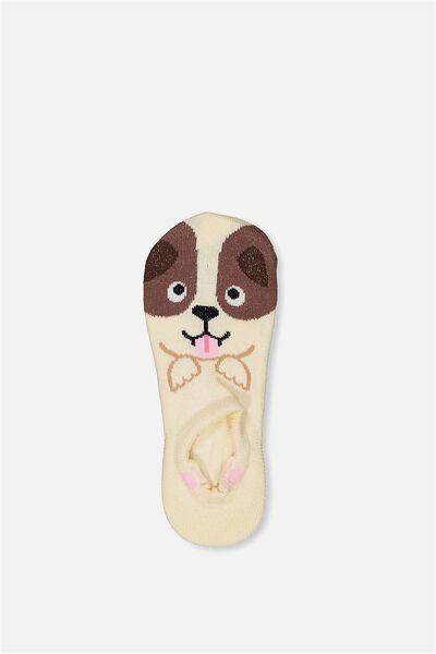 Low Cut Animal Socks, PUPPY