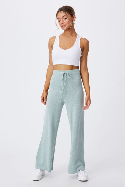 Holly Knit Pant, MATCHA GREEN