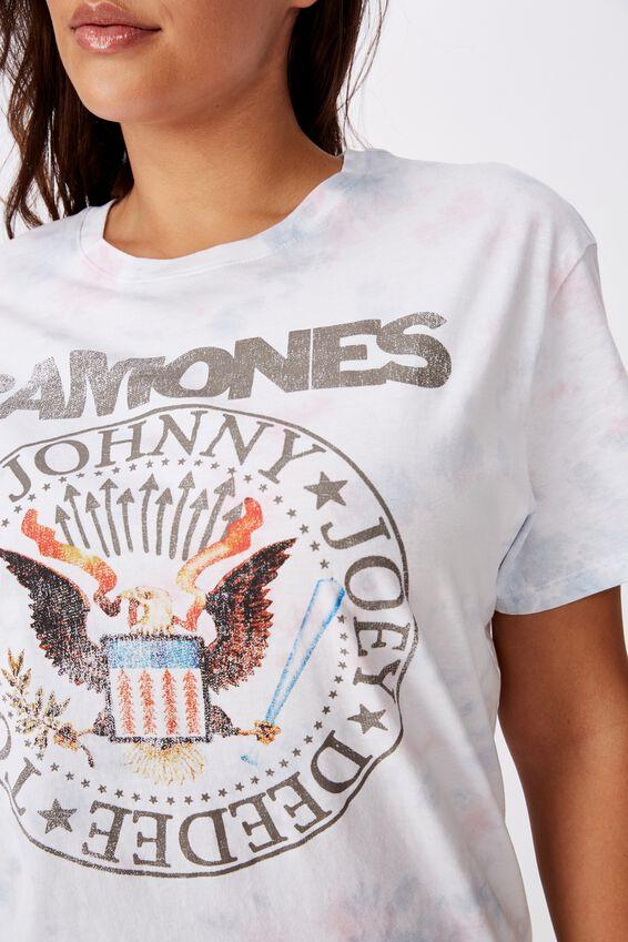 Ramones Tee, SOFT TIE DYE/RAMONES EMBLEM