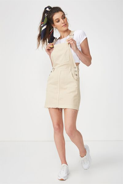 The Denim Pinafore, LATTE