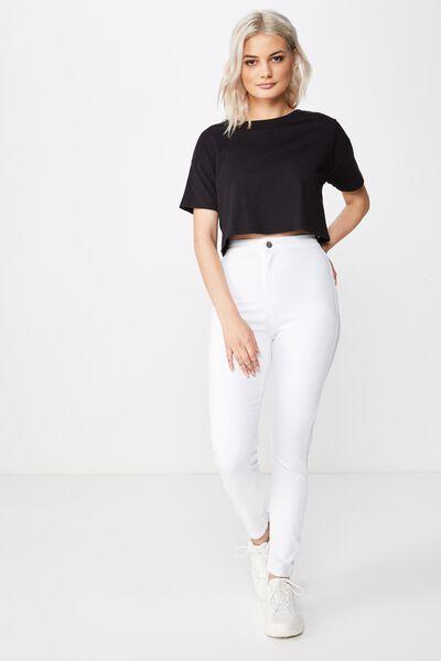 f749560e7 Short Super Skinny Sky High Jean
