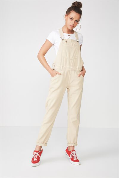 Denim Overall, LATTE