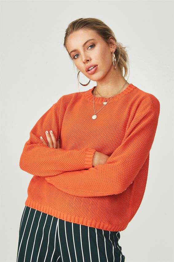 Alice Waffle Knit Top | Tuggl