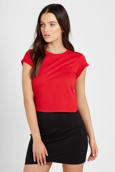 Baby Tee, RED