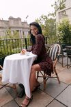 Drew Long Sleeve Wrap Dress, ROSE GARDEN FLORAL
