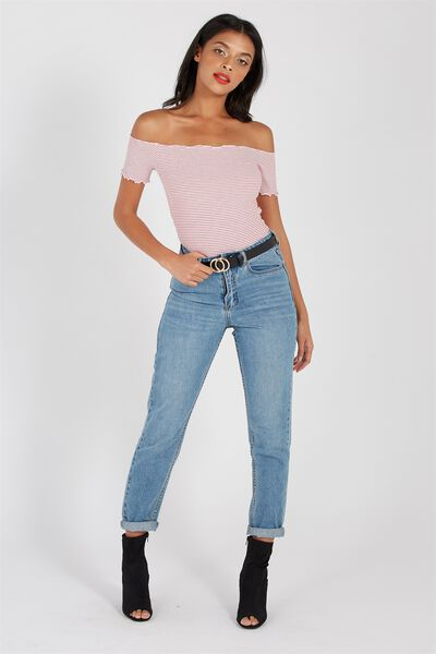 The Cool Mom Denim Jean, VALLEY BLUE