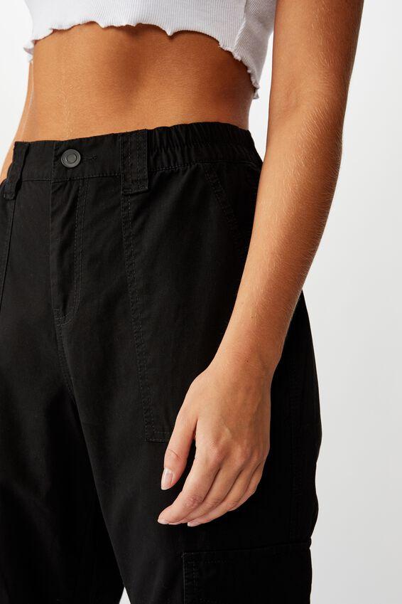 Kendra Cargo Pant, BLACK