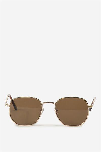 The Southside Hexagon Sunglasses, HERITAGE
