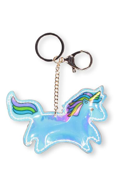 Puffy Pu Keyring, UNICORN