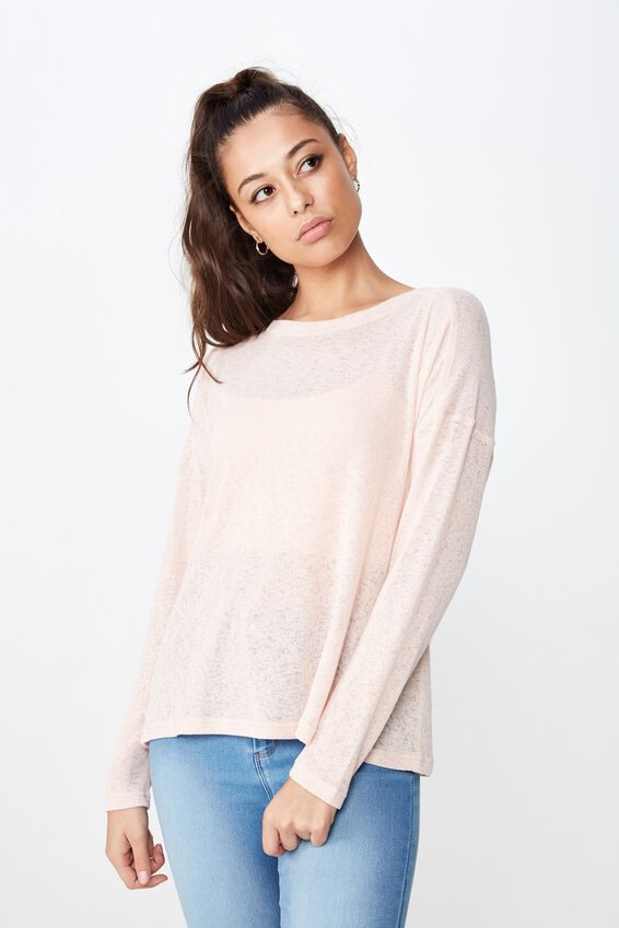 Naomi Long Sleeve Light Weight Top by Cotton On