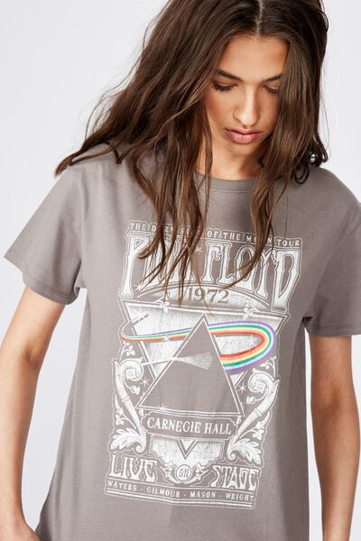 The Kendall Graphic Tee, CEMENT GREY/PINK FLOYD TOUR