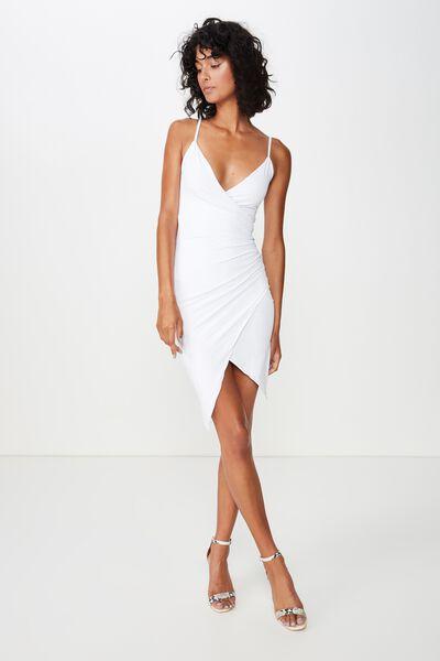 87dde1090d2 Luxe Strappy Wrap Dress