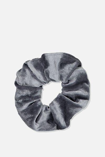 Scrunchie, PLUSH GREY