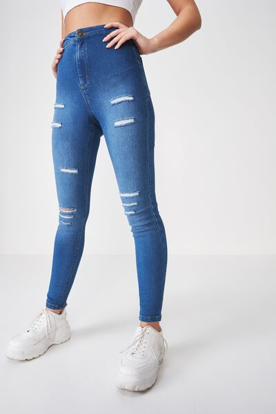 fc5ff892d8c786 Women's High Waisted Jeans, Jeggings & Pants | Cotton On