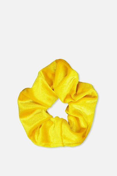 Scrunchie, PLUSH YELLOW