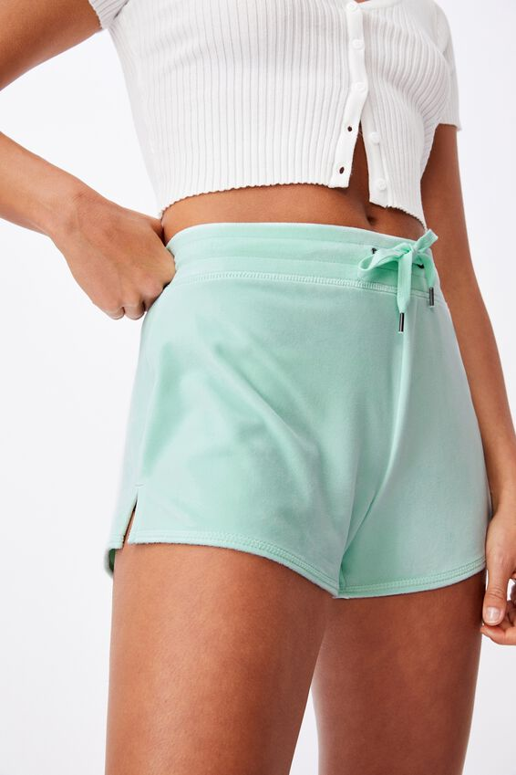 Super Soft Short Shorts, BLEACH AQUA