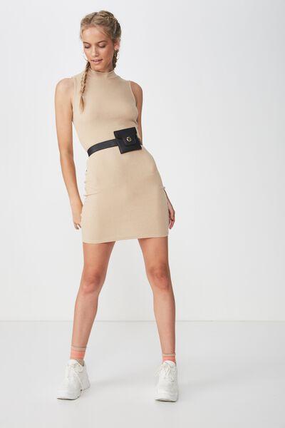 Womens Mini Dresses - Slip   Off-the-Shoulder  447ebe588