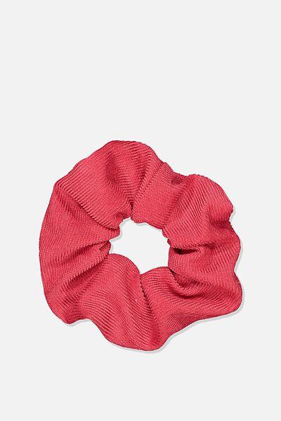 Mini Cord Scrunchie, RED