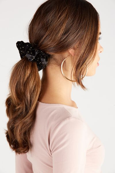 Scrunchie, BLACK