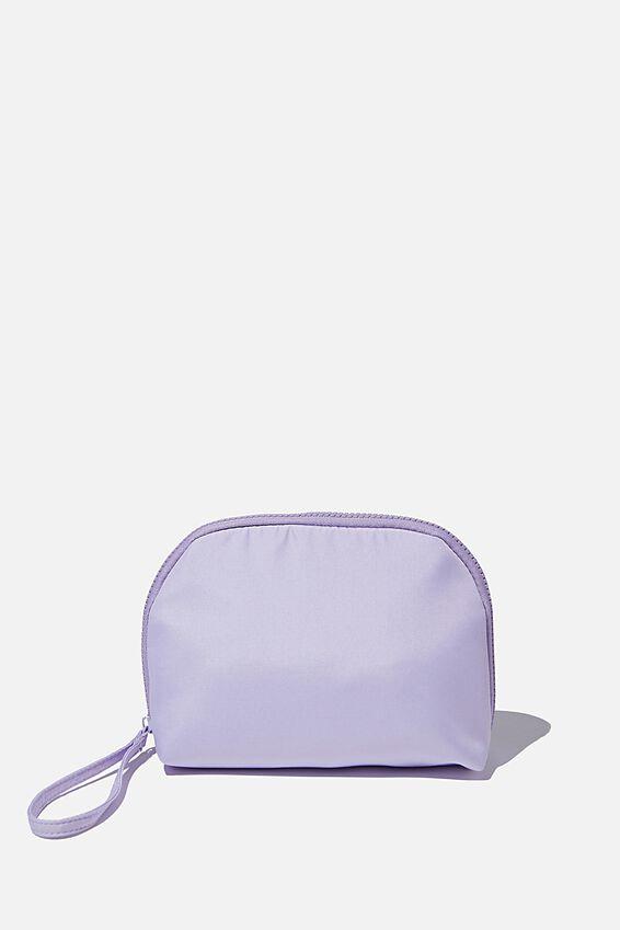 Nylon Make Up Bag, LILAC