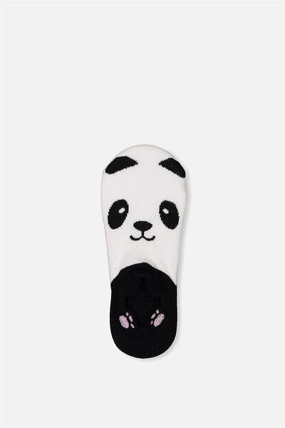Low Cut Animal Socks, PANDA
