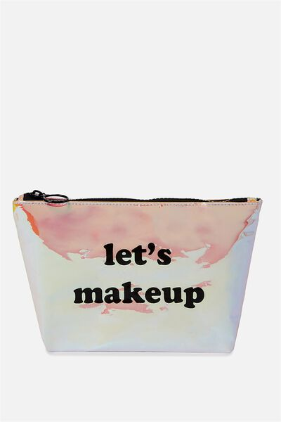 Goto Beauty Pouch, HOLOGRAPHIC/MAKE UP