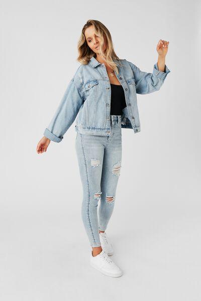 80S Denim Jacket, CALIFORNIA BLUE