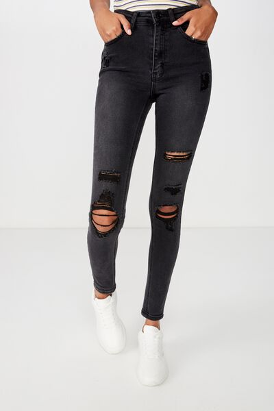 6f1421f7dca Women's Jeans, Skinny, Flared & Hot Mom Styles | Cotton On