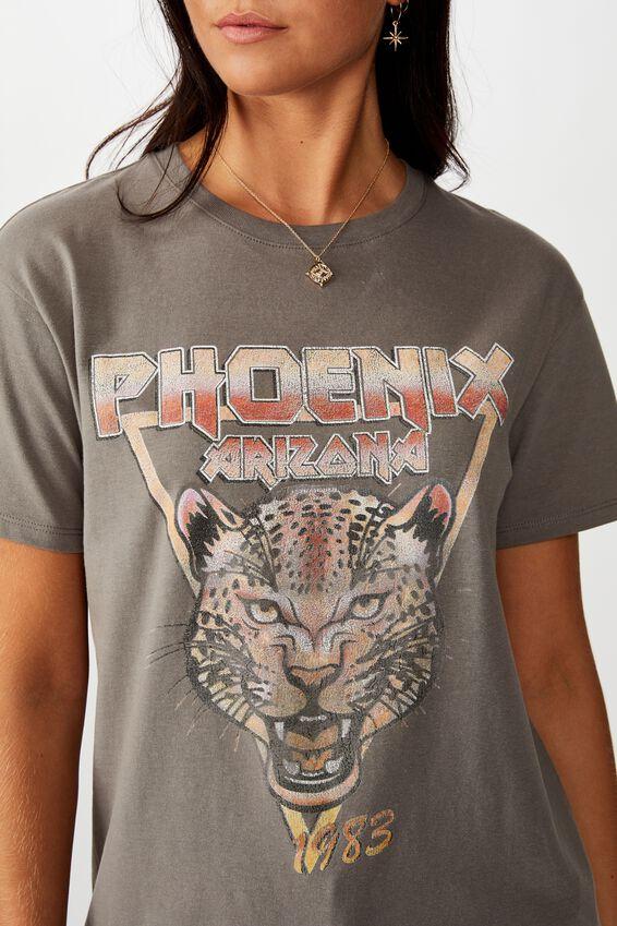 Phoenix Tee, CEMENT GREY PHOENIX