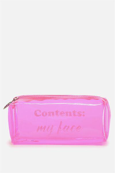 Goto Beauty Case, PINK/FACE