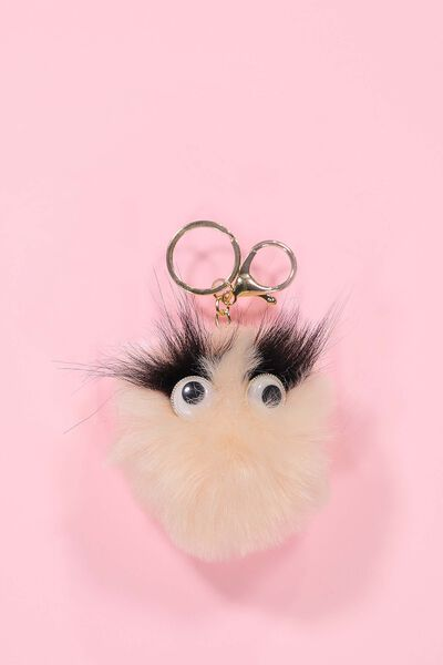 Furry Friend Keyring, BLUSH