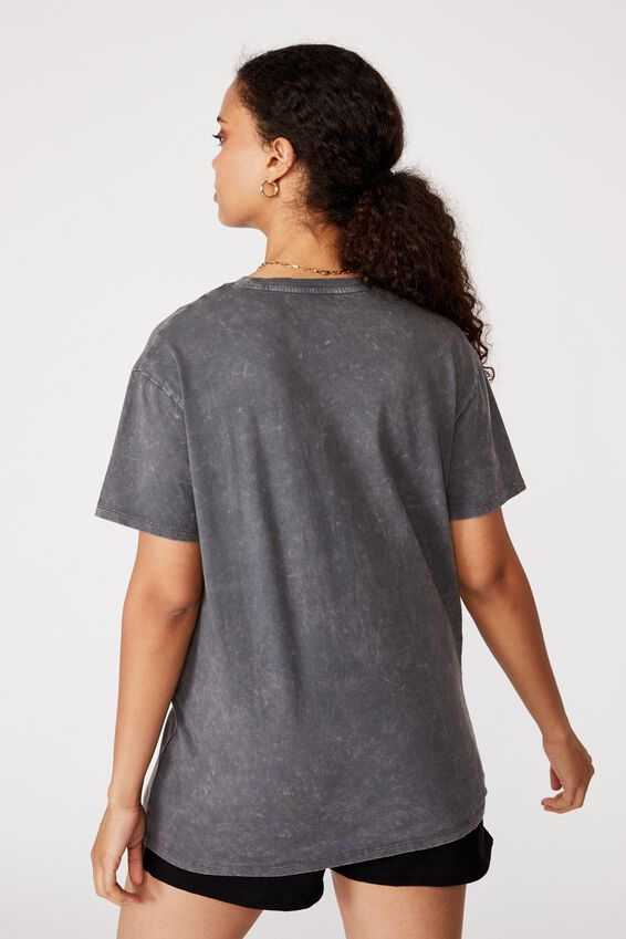 Wild and Free Tee, GRANITE GREY/WILD AND FREE