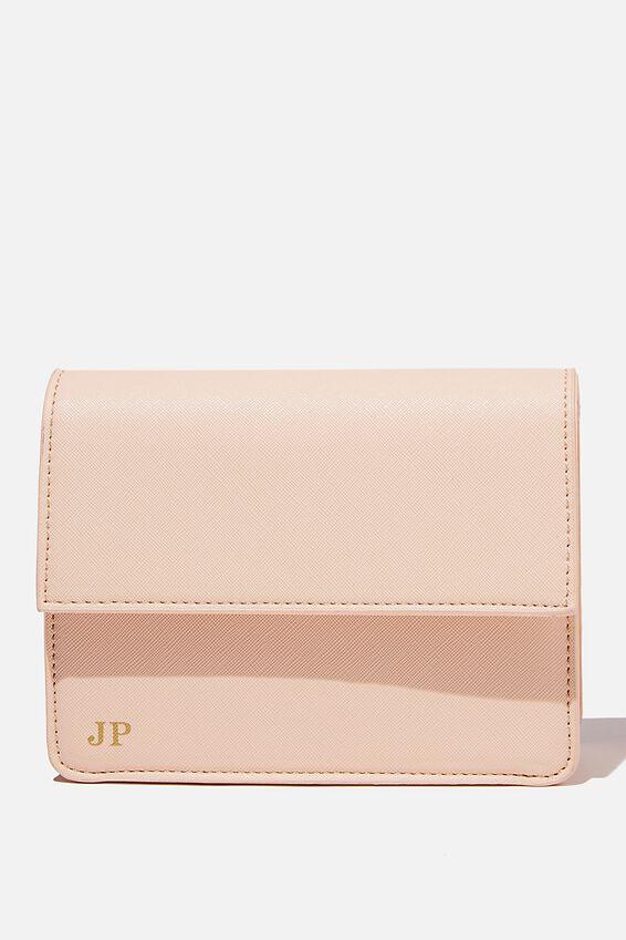 Personalised Isla Crossbody Bag, SOFT STONE