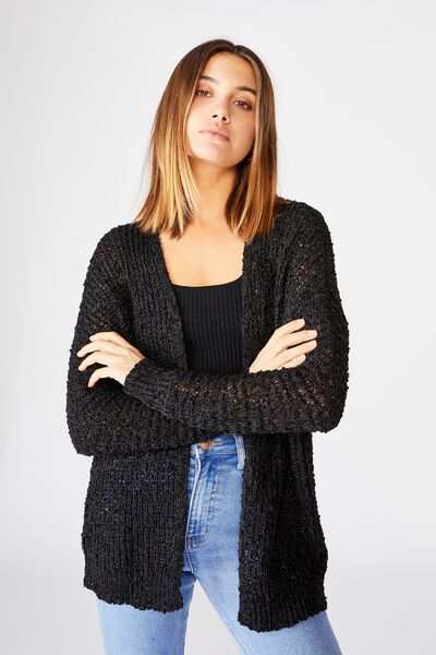 Dayana Cardi, BLACK/GRANITE GREY TWIST