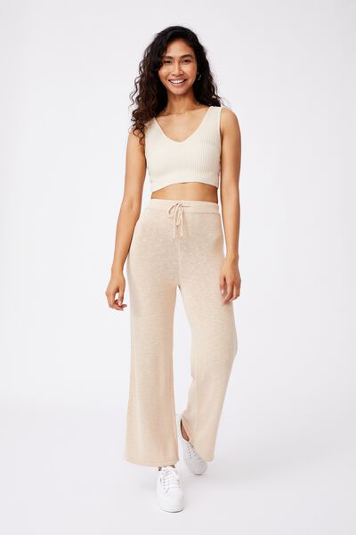 Holly Knit Pant, FRAPPE