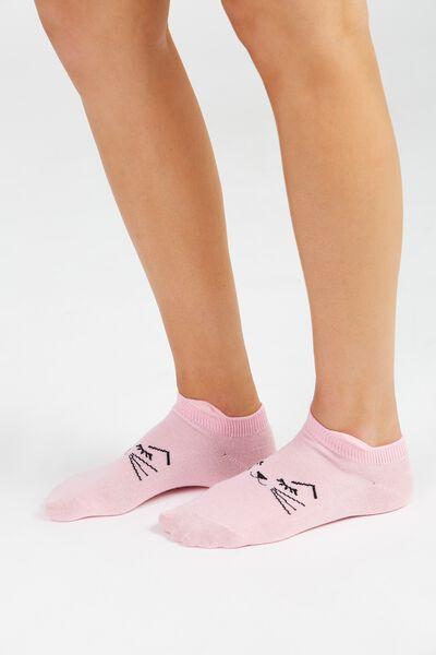 Low Cut Animal Socks, CAT